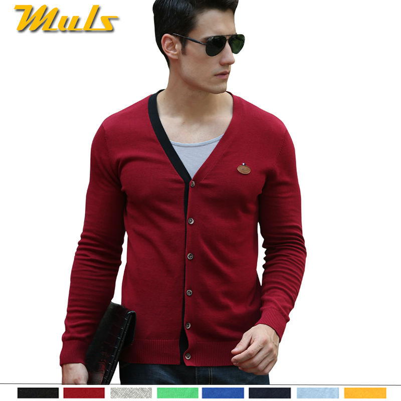 8Colors Navy Blue Cardigan Men Sweater Autumn Cheap Clothes China ...