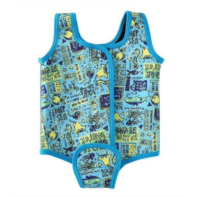 Splash About Babywrap Neoprene Dive Sail Infant Swimwear Vest