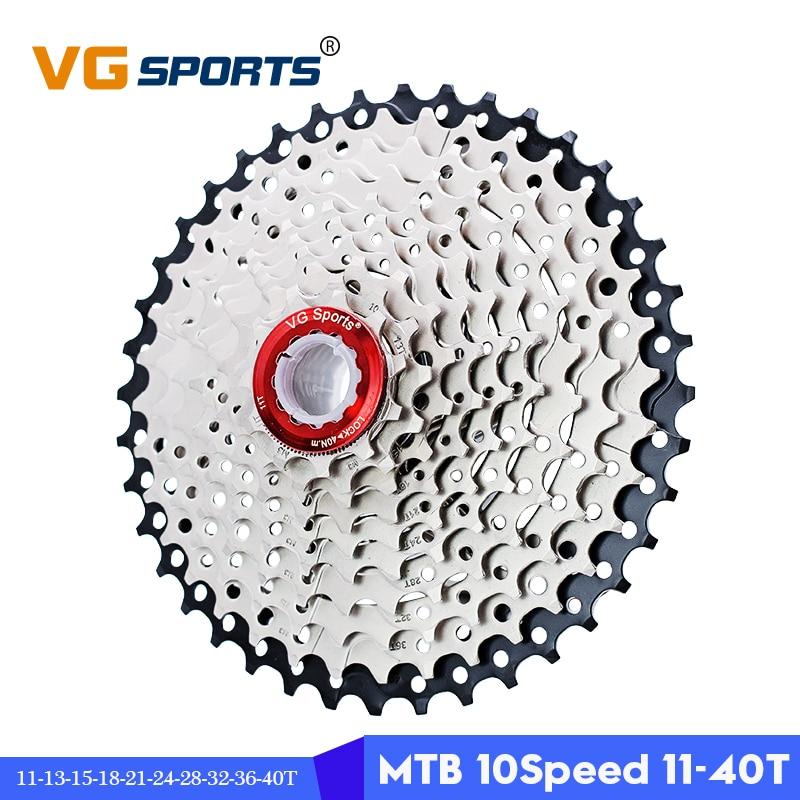 VG Sports 11-28T 10 Speed Bicycle Freewheel MTB Mountain Bike Cassette Cogs 270g