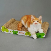 New Arrival Pet Cat Toy Cat Scratcher with Catnip Lounge Handmade Kitten Scratching Post Interactive Toy For Pet Cat Training