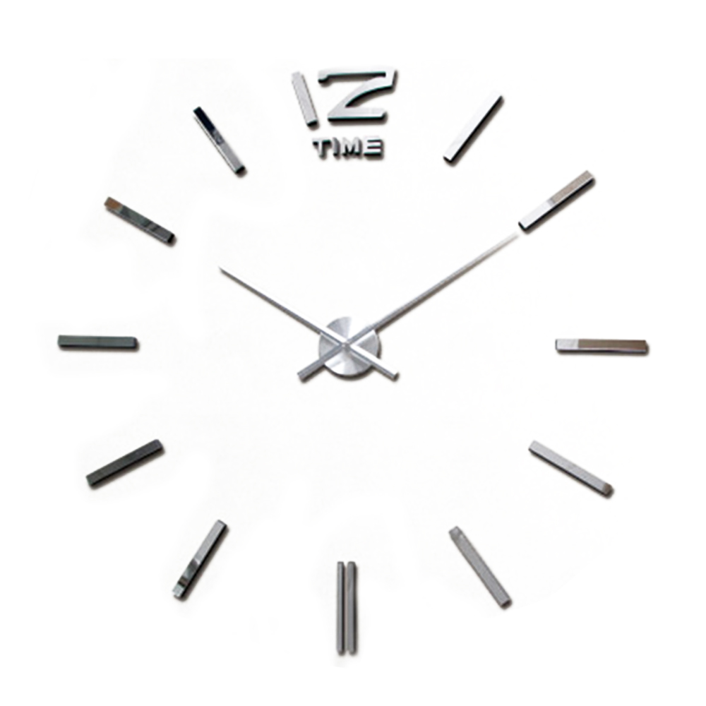 2017 hot sale 3d large wall clock modern design mirror wall 2017 hot sale 3d large wall clock modern design mirror wall stickers diy clock horloge murale saat home decor reloj de pared in wall clocks from home amipublicfo Image collections