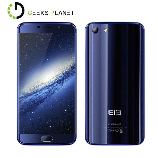 Original Elephone S7 4GB RAM 64GB ROMMobile Phone Helio X20 MTK6797 Deca Core 5.5 Inch FHD Screen OTG Android 6.0 4G Smartphone