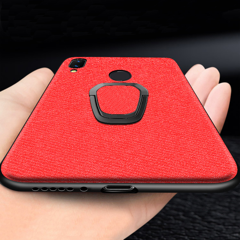 meizu note 9 16 16th 16x note9 Case Magnetic Car Holder Ring CBumper Back Cover case for meizu 16 16th 16x note 9 note9