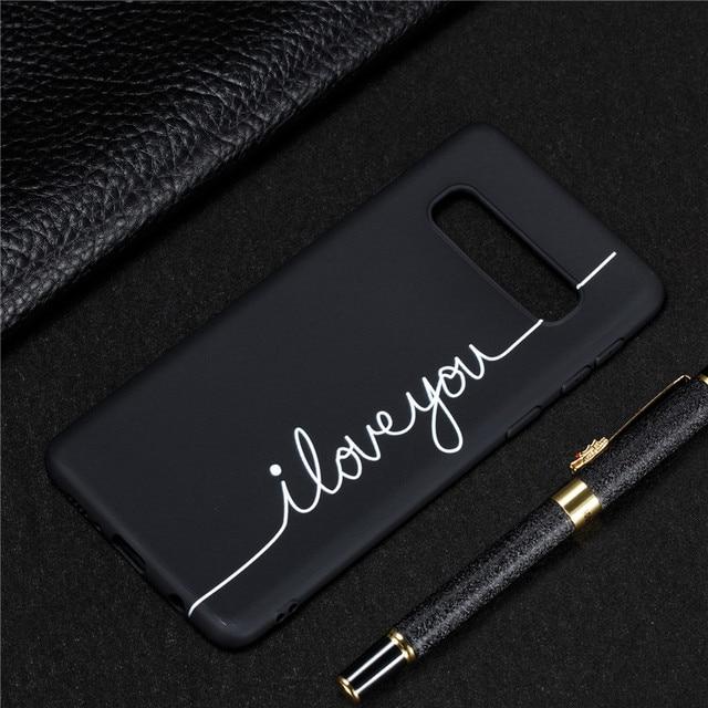 Siliconen Case op voor Samsung Galaxy S10 Couqe Zachte TPU Cover voor Samsung S 10 Plus S10e S10Plus Slanke telefoon Gevallen Capa 2