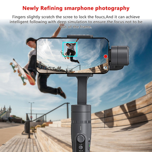 Image 3 - Feiyutech Vimble 2 3 Axis Gimbal Smartphone Stabilizer gimbal with extender pole for iPhone X XS 8 7 6 PK freevision vilta m