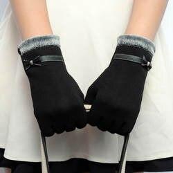 Новый бренд Для женщин зимние женские Прихватки для мангала Мода смартфон Экран наручные Прихватки для мангала для женщин Luvas de Inverno