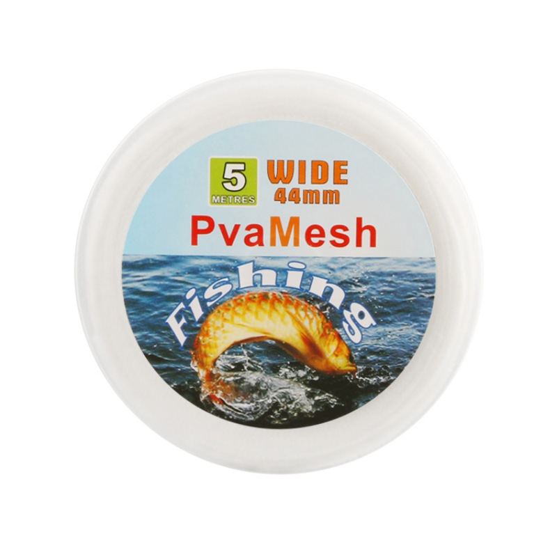FISHING PVA MESH 44MM 5 METRES FISHING CARP RIG BAIT PVA BAG REFILLS