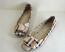 2015 Fashion Spring/Autumn Women Flats Shoes Ladies Bow Square Toe Slip-On Flat Women's Shoes Female Plus Size 35-42