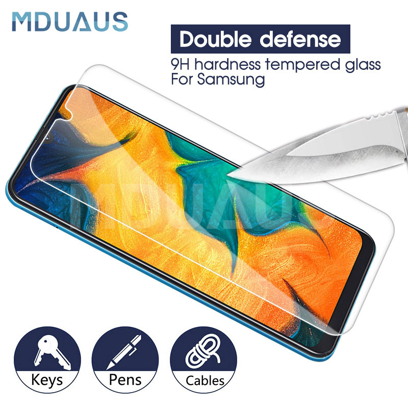 9H Tempered Glass on the For Samsung Galaxy A10 A20 A30 A50 A70 M10 M20 M30 A6 A8 Plus 2018 Screen Protector Protective Film9H Tempered Glass on the For Samsung Galaxy A10 A20 A30 A50 A70 M10 M20 M30 A6 A8 Plus 2018 Screen Protector Protective Film