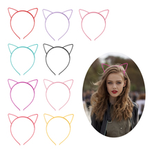 iMucci Cat Ears Head Bands Hair Accessories Fashion Kids Women Girl Hairband Sexy Self Headband Party Gift