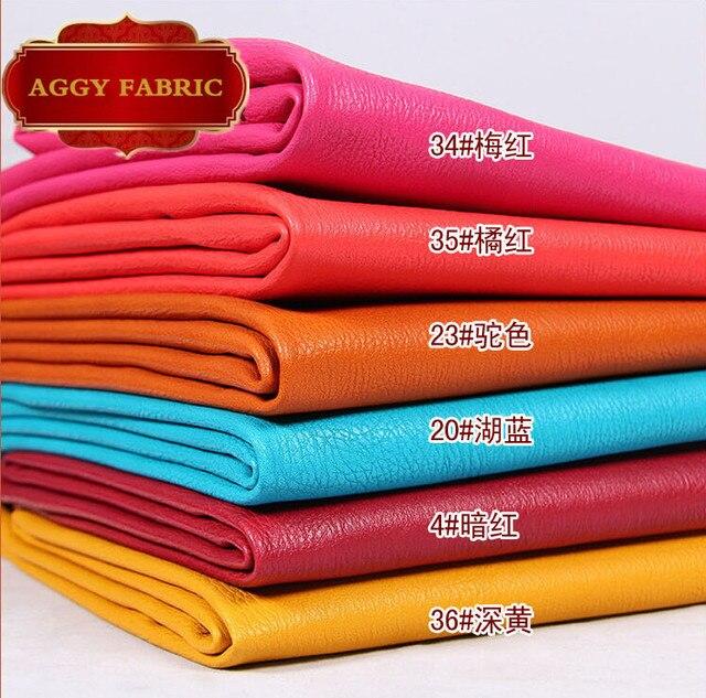 Pu tecido de couro falso, Eco friendly de couro para sofá, Pu couro Artificial para costura diy, Couro pele atacado