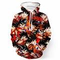 Cool Kid Goku 3D Impresso Hoodies Homens Anime Camisola Dragão Ball Z Com Capuz Suam Tops Estilo Harajuku Pullover Unisex Masculino casaco com capuz
