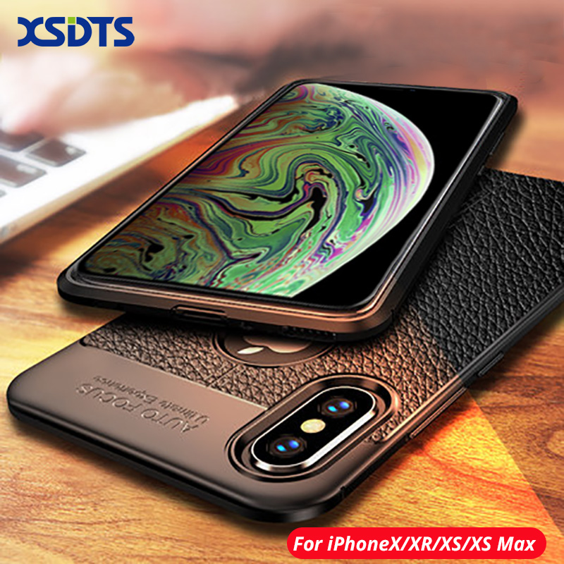 Luxury House With Phone With: For IPhone XS Max Phone Case For IPhone X XR Case Luxury