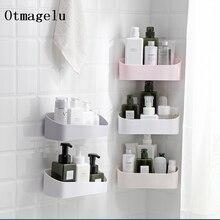 Storage-Rack Shower-Shelf Wall-Mount-Organizer Kitchen Bathroom-Accessories Punching