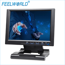 Feelworld FW1042AHT 10.4 Inch 800×600 TFT LCD Touch Monitor with HDMI VGA DVI YPbPr AV 10.4″ Touch Screen Monitors