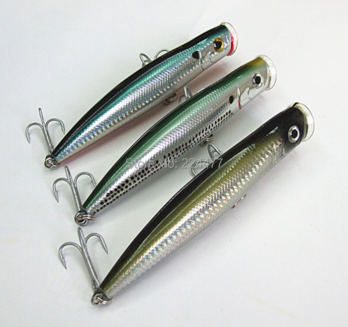 15.5cm/50g Floating Type Poper Lure Fishing Lure Fishing tackle Sea Bait Big Game Fishing Lure With China hook lucky john croco spoon big game mission 24гр 004