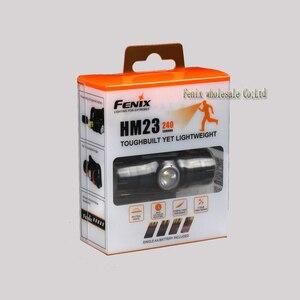 Image 5 - Lámpara de cabeza de Camping FENIX HM23 LED impermeable AA faro máximo 240lm