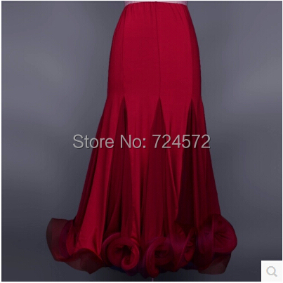 Ballroom dance costume Fashion package hip ballroom dance skirt for women ballroom dance competition skirt 7kinds of colors