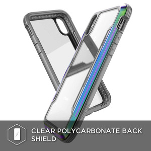 Image 5 - X doria Défense Bouclier Téléphone étui pour iPhone XR XS Max De Qualité Militaire Baisse Examinée Cas Coque Pour iPhone X XS Max Couvercle En Aluminium