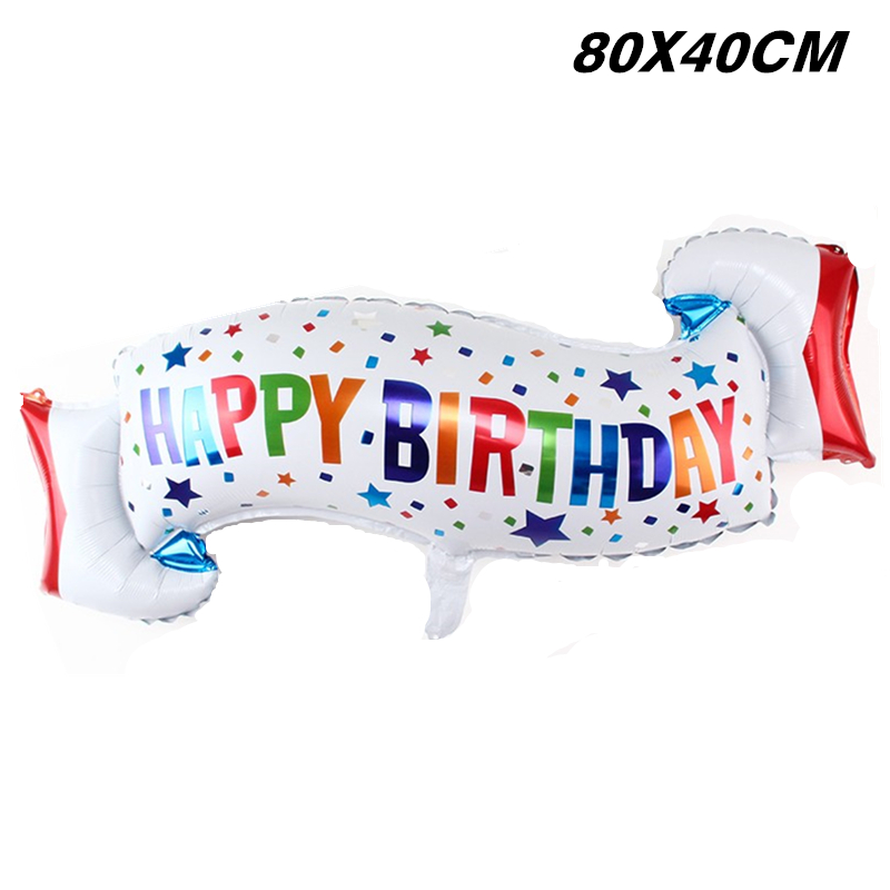 200pcs birthday balloons