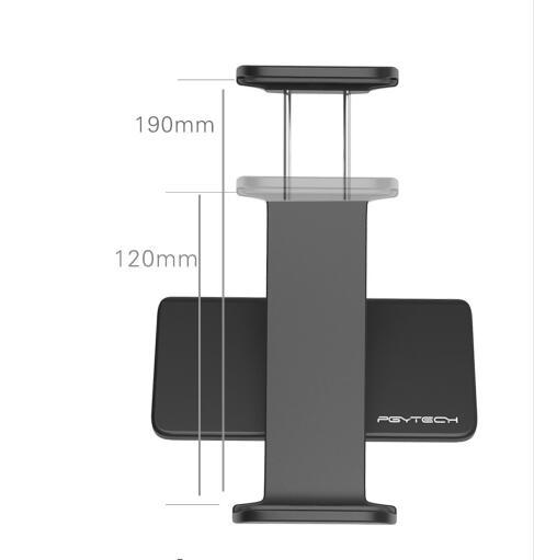 PGY DJI Mavic Pro remote control Accessories 7-10 Pad Mobile Phone Holder aluminum Flat Bracket tablte stander Parts RC Spark