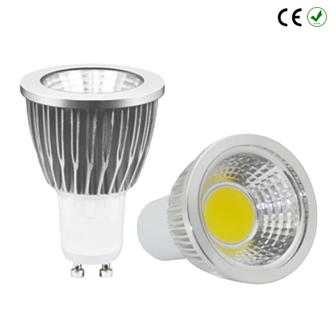 3W 5W 7W Spot Light LED Bulb Led 85V-265V 12V GU10 E27 COB MR16 2700K 3000K Warm White bulb replace energy saving lamp