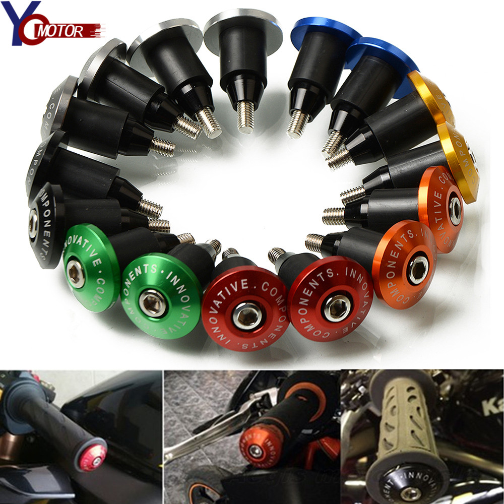"7//8/"" Motorcycle CNC Bar End Handlebars End Caps Plugs for Honda CRF250X CRF150R"