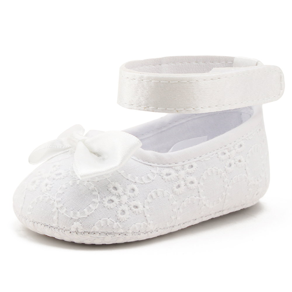 Newborn White Christening Shoes Ring design princess Baby shoes