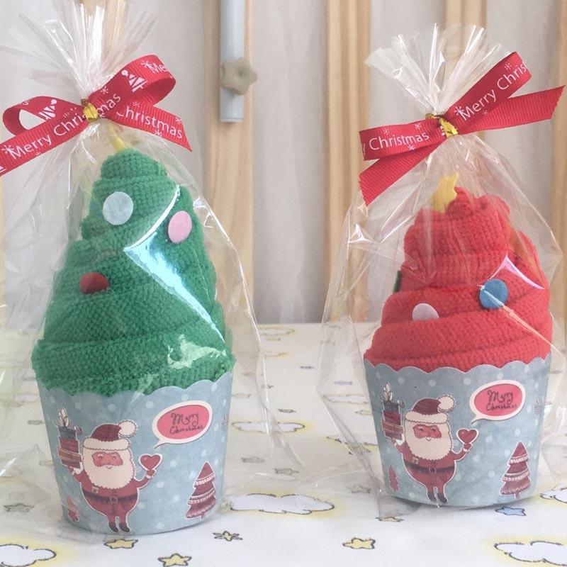 Summitkids 30 * 60cm Baby Towel 1 szt. Czerwony zielony kolor Cute - Opieka nad dzieckiem - Zdjęcie 2