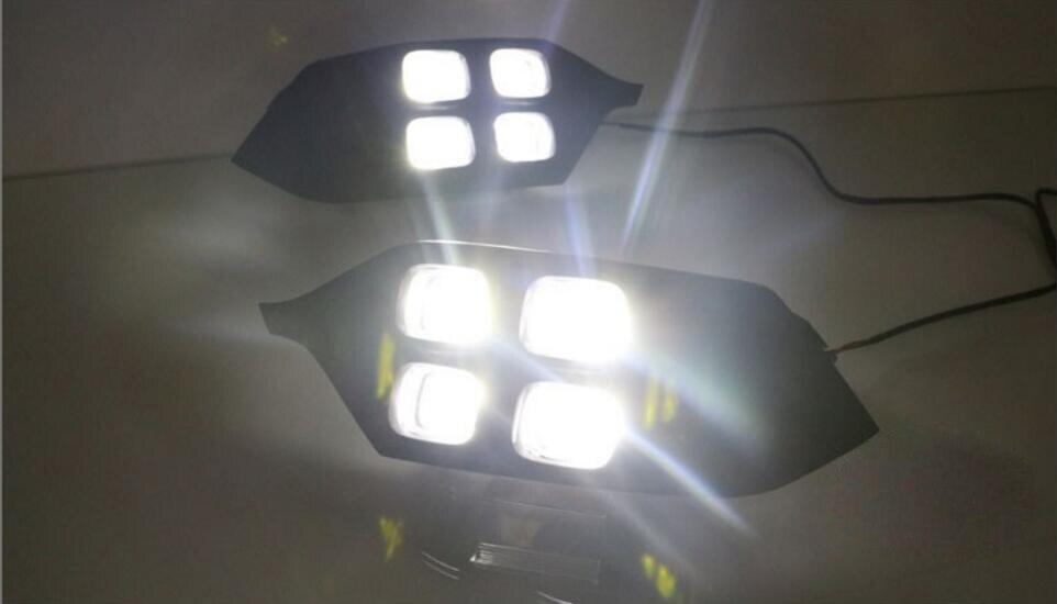 Mitsubish Pajero daytime light;2016~2017, Free ship!LED,Pajero fog light,Outlander,Pajero montero