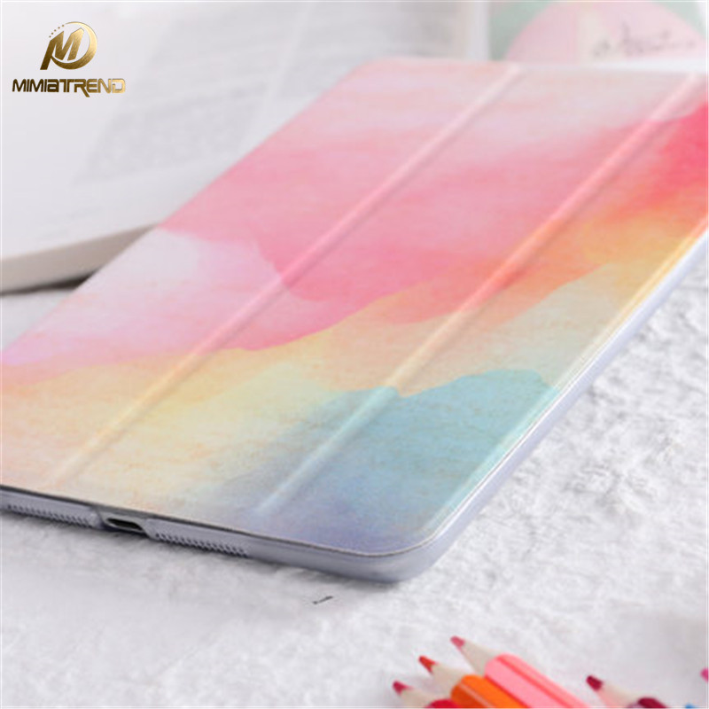Mimiatrend 2017 Art PU Case for iPad Pro 9.7 Air Air2 Mini 1 2 3 4 5 Tablet Case Shell + Screen Protector + Phone Case wood package tempered glass screen protector case for ipad 2 3 4 5 air for ipad mini 1 2 3 4 front film for ipad pro 12 9