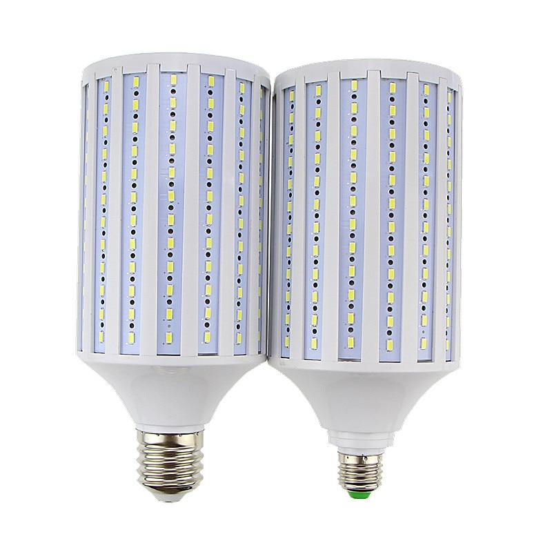 Lampada 80W LED Lamp 5730 5630 SMD E27 E40 E26 B22 216 LEDs AC85-265V  Corn Bulb Pendant Lighting  Chandelier Ceiling Light super bright 30w 40w 60w 80w led lamp e27 e40 110v 220v lampada corn bulbs light pendant lighting chandelier ceiling spot light