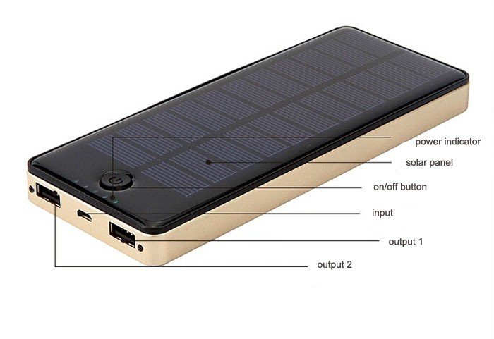solar panel power bank 20000 mah 9