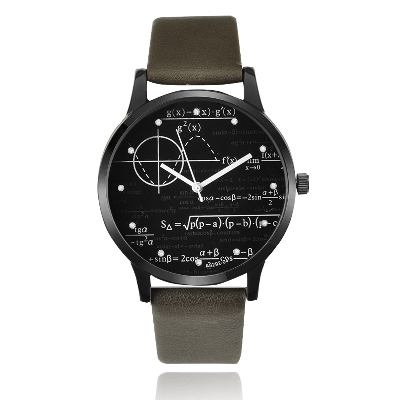 Men Watch Leather Men's Watch Fashion Mens Watches 2