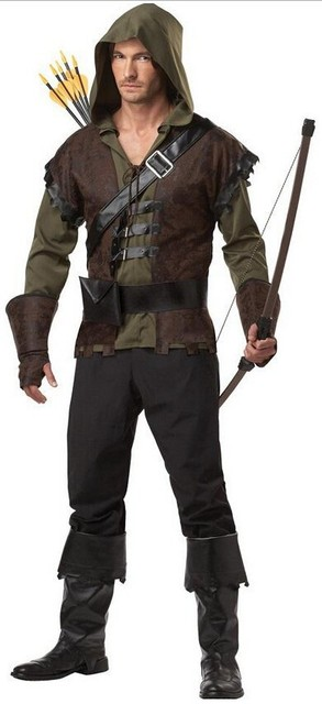 Free Shipping 2015 High quality Mens Halloween costume Robin Hood Prince Of Thieves Peter Pan Fancy  sc 1 st  AliExpress.com & Free Shipping 2015 High quality Mens Halloween costume Robin Hood ...