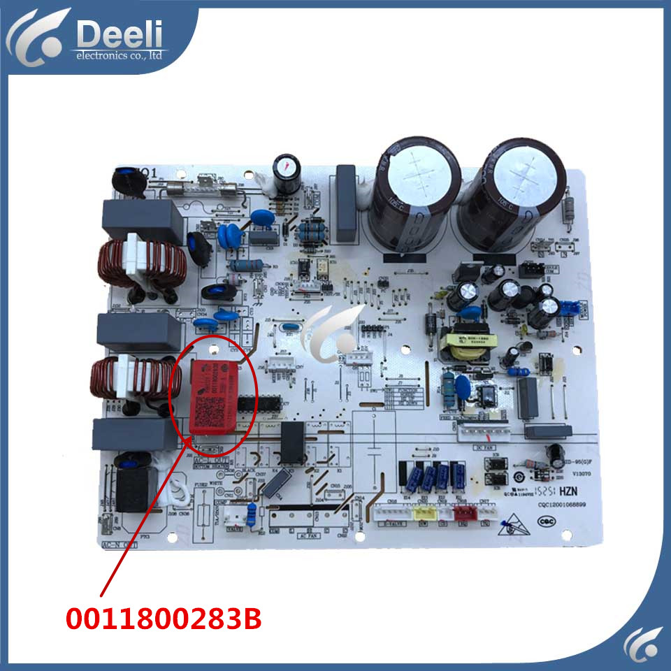 good working for air conditioning computer board 0011800283B used board good working for air conditioning computer board 0011800283b used board