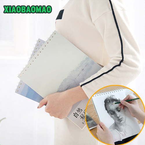 Beautiful scenery of high quality Spiral Journal Dairy Blank Sketchbook 50 Sheets Art Drawing Painting Graffiti Notebook A4 16k quality control and safety of fruit juices nectars and dairy products