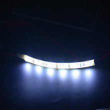 3.94  10cm 5050 LED Strip Light 12V Car Caravan White Blue Red Green Yellow Warm Waterproof