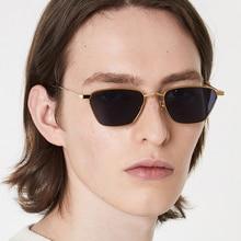 Metal Square Small Frame Sunglasses Men Women Classic Vintag