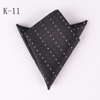 Top 20 Colors Vintage Gray With White Dot Hanky Men S Business Stylish Square Pockets Handkerchief
