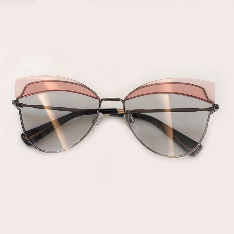 Legierung Qualität Brillen no Luxus 3 Mode no 4 Sol Marke No Oculos Rahmen 1 Box no De Mit Designer 2019 2 Hohe Frauen 5 no Feminino Sonnenbrille dgcfynd8W