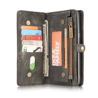 CaseMe Multi Function Luxury Leather Phone Magnetic Case Cover For Samsung Galaxy S8 Wallet Plus Card