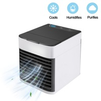 Summer USB Mini Portable Air Conditioner Desktop Air Cooling Fan Air Cooler Fan for Office Home Drying Fast Dog Dryer Makes Dog