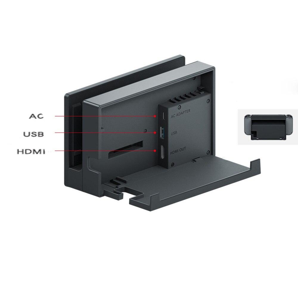 Support de Station de charge HDMI de remplacement pour Console Nintendo Switch NS NX noir d'origine