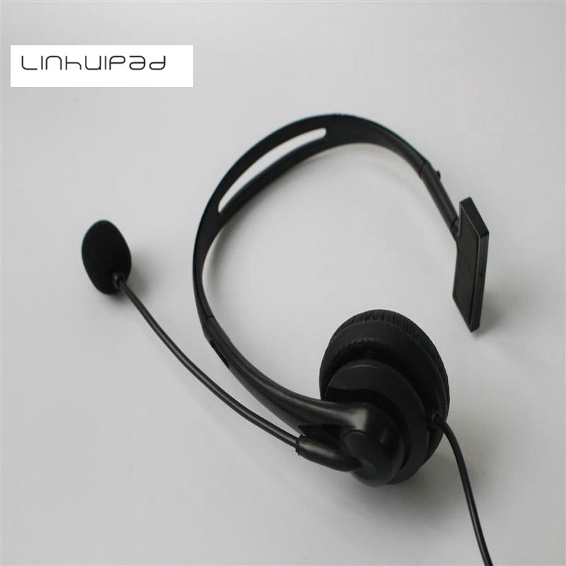 Linhuipad 2.5mm jack Wired Manufacture Cheap Call Center Telephone Headset Noise Cancelling Unilateral earphone low cost headset creative book shaped wired telephone deep blue