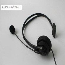 Linhuipad 2.5 мм разъем Проводной Производство Дешевые Call-Центр Телефонной Гарнитуры С Шумоподавлением Односторонние наушники низкая стоимость гарнитуры