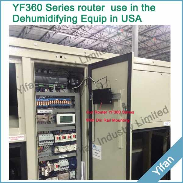 Support Modbus TCP RTU YF360-H UMTS/WCDMA/HSPA industrial 3g modem router with ethernet port for Vehicle