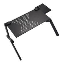 Soporte de mesa para portátil móvil, ergonómico, multifuncional y ajustable para cama, sofá portátil, mesa plegable, mesa plegable, escritorio para notebook