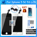 10PCS/LOT Quality AAA No Dead Pixel For iPhone 5  5S LCD Screen With Touch Digitizer Display Assembly Replacement Free DHL
