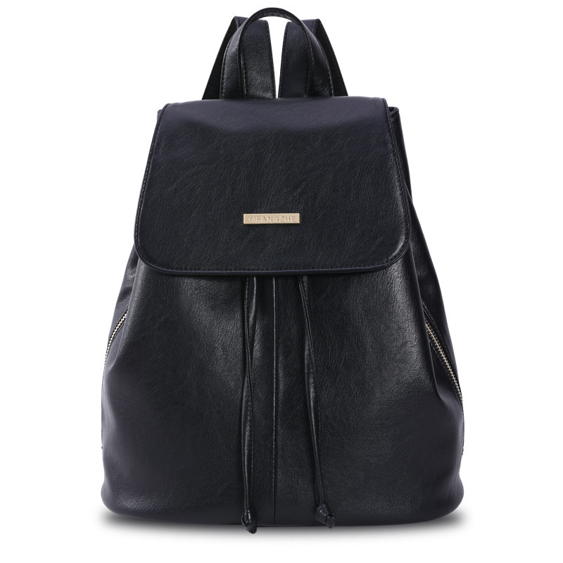 Brand Rotro Backpack Women PU Leather Bag Women Bag Small Women Backpack Mochila Feminina School Bags for Teenagers drawstring pu leather backpack small school women bag top handle lock girl backpack new arrivals herald fashion mochila feminina